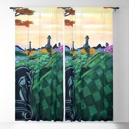 World Of Chess Blackout Curtain