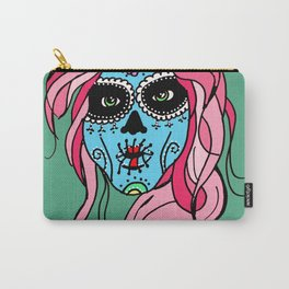 Pastel Sugar Skull Carry-All Pouch