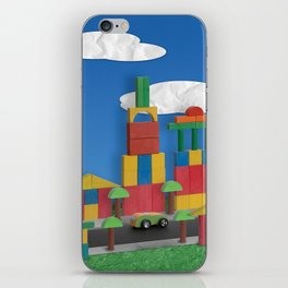 Building blocks. iPhone Skin