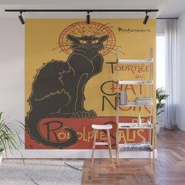 Tournee du Chat Noir De Rodolphe Salis Vector Wall Mural