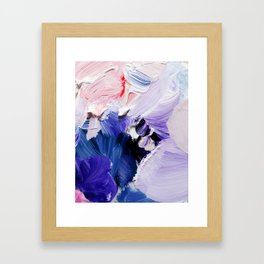 If You Please (Abstract Painting) Framed Art Print