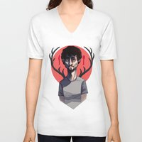 will graham V-neck T-shirts featuring Will Graham by nucleir