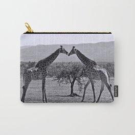Giraffe talk Carry-All Pouch