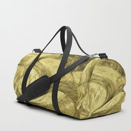Flying threads of gold Duffle Bag