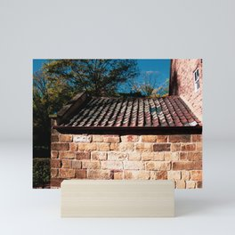 Captain Cooks Cottage. Fitzroy Gardens. Melbourne. Australia. Mini Art Print