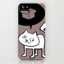 minima - derpicat | box iPhone Case
