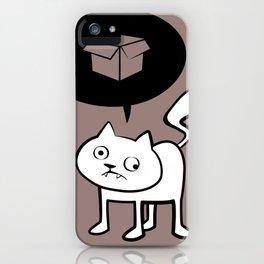 minima - derpicat | box iPhone Case