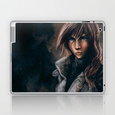 Lightning from Final Fantasy 13 Painting Laptop & iPad Skin