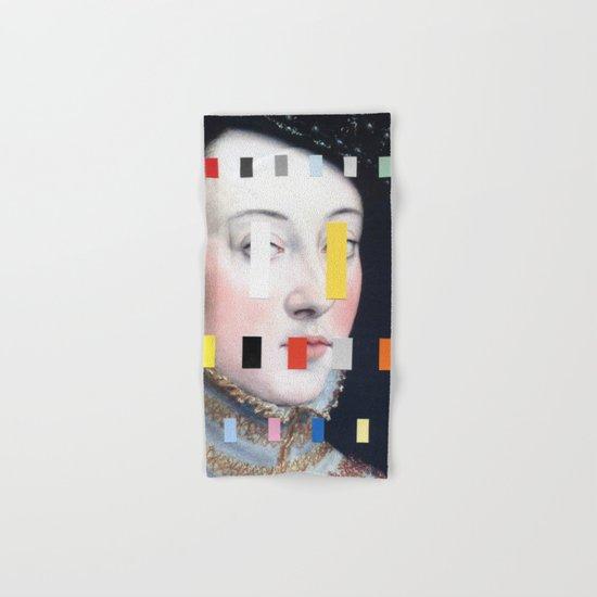 Portrait With A Spectrum 4 Hand & Bath Towel