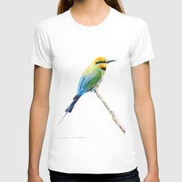 Rainbow Bee Eater by Teresa Thompson T-shirt