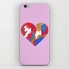 Drippy Heart iPhone Skin