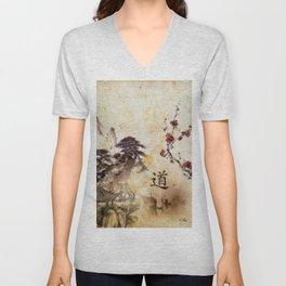 Tao Te Ching Unisex V-Neck