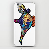 aladdin iPhone & iPod Skins featuring Looking for the genie by Ilse S