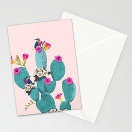 Cactus Hummingbirds Stationery Cards