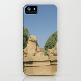 The Avenue of Sphinxes iPhone Case