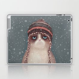 Christmas Cat Laptop & iPad Skin