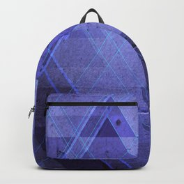 Blue concrete Backpack