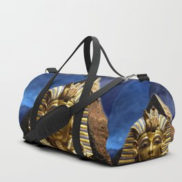 King Tut and Pyramid Duffle Bag