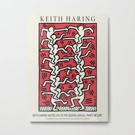 fighters - Keith Art, Exhibition Poster, Japan Vintage Print Metal Print
