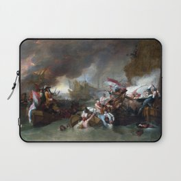 Benjamin West The Battle of La Hogue Laptop Sleeve