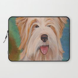 Terrier Portrait Laptop Sleeve
