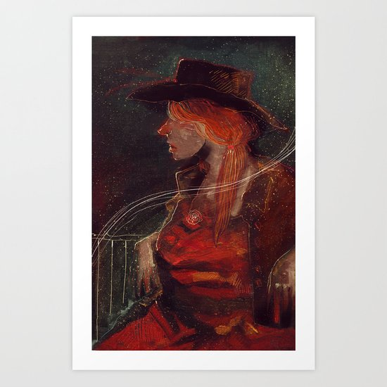 Whispers From Thin Air  Art Print
