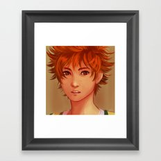 Little Shrimp II Framed Art Print