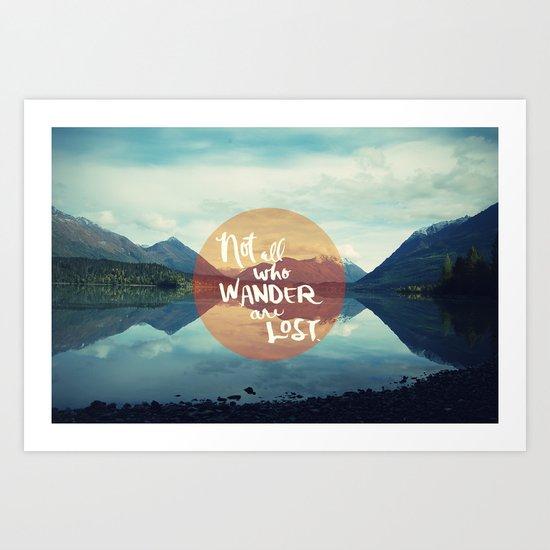Wander II Art Print