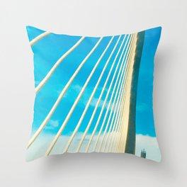 Man-made Rays of Sun  Throw Pillow