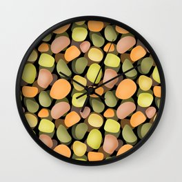 Sea pebbles 2. Wall Clock
