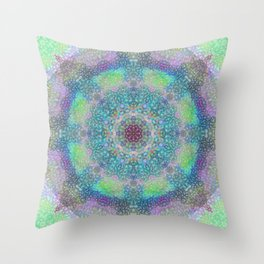 Unity through Creation Throw Pillow