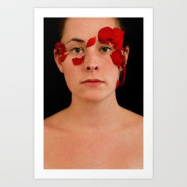 the sarajevo rose project (lisa I)  Art Print