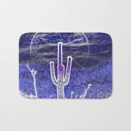 Saguaro Moonrise by Murray Bolesta! Bath Mat