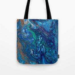 Mermaid Marble Tote Bag