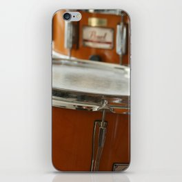 March to the Beat of the Drum iPhone Skin