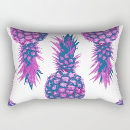 pinapple - white background Rectangular Pillow
