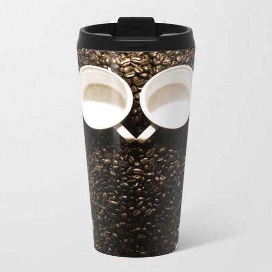 Hoot! Night Owl! Metal Travel Mug