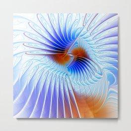 fractal design -123- Metal Print