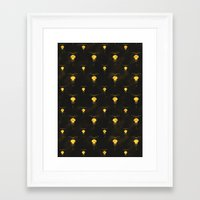space dandy Framed Art Prints featuring Dandy Jelly by Schwebewesen • Romina Lutz