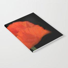 flowers of spring on black -19- Notebook