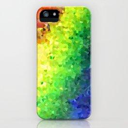 Rainbow Crystals iPhone Case