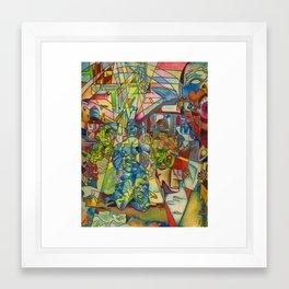 w?y Framed Art Print