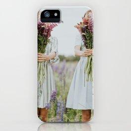 Lavander girls iPhone Case