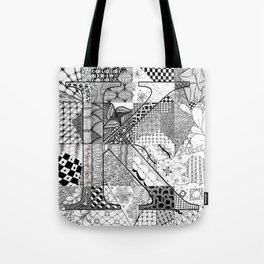 Small K Tote Bag