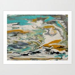 OceanSea 1 Art Print