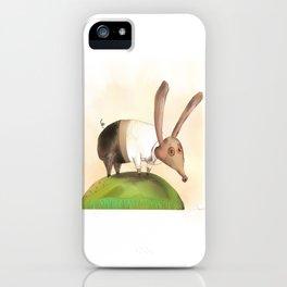 Rabpig iPhone Case