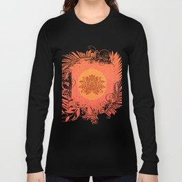 Lotus Flower of Life Meditation  Art Long Sleeve T-shirt