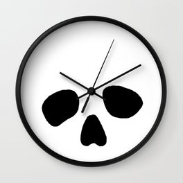 Skull eyes Wall Clock
