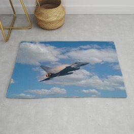 Eurofighter Typhoon Jet Rug