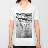 fog V-neck T-shirts featuring Fog by Keith Dotson